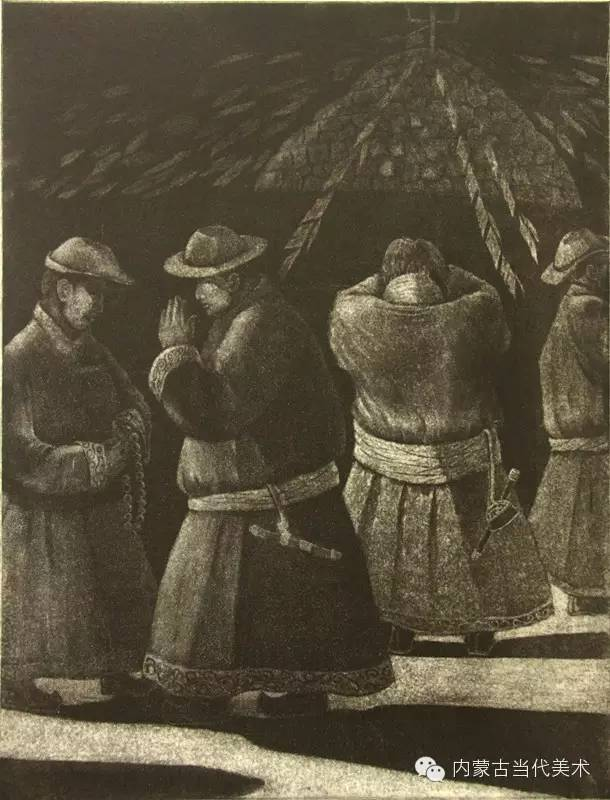 内蒙古当代美术家系列——陈春雷与他的创作 第8张
