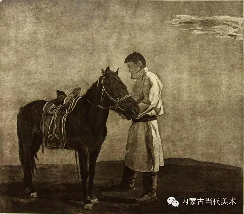 内蒙古当代美术家系列——陈春雷与他的创作 第13张