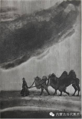 内蒙古当代美术家系列——陈春雷与他的创作 第18张
