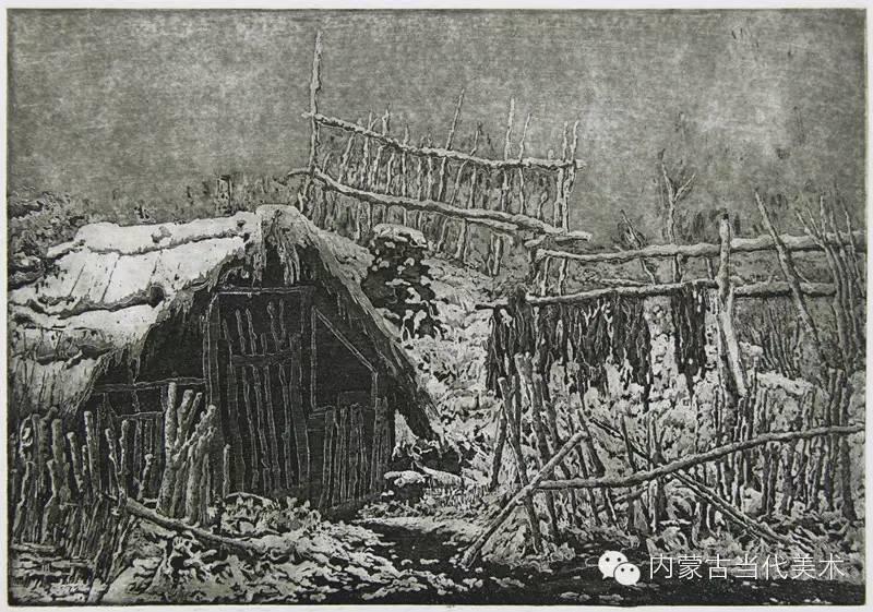 内蒙古当代美术家系列——陈春雷与他的创作 第16张