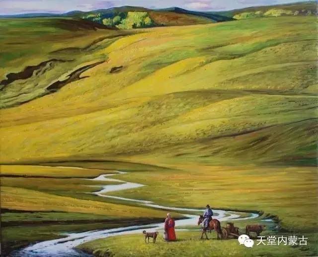 🔴内蒙古油画家胡贵明---油画作品 第7张