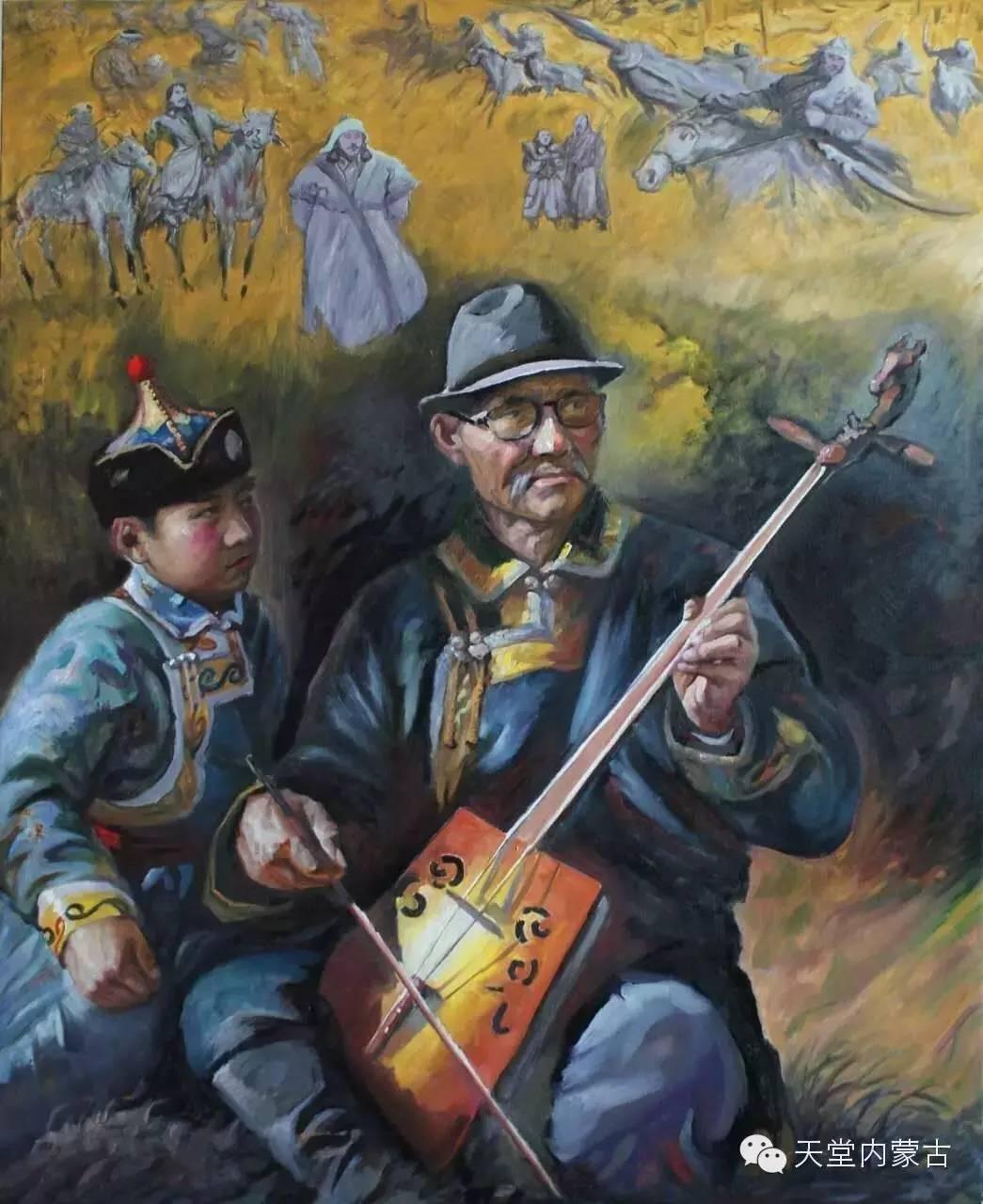 🔴内蒙古油画家胡贵明---油画作品 第10张