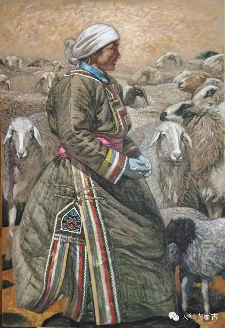 🔴内蒙古油画家胡贵明---油画作品 第12张
