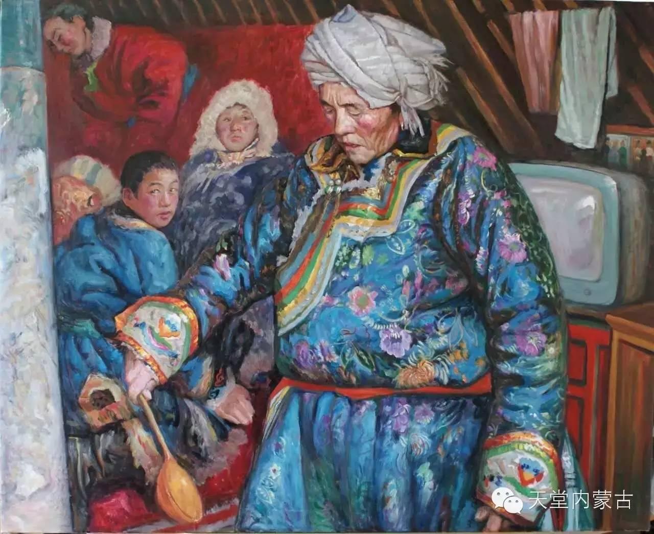 🔴内蒙古油画家胡贵明---油画作品 第14张