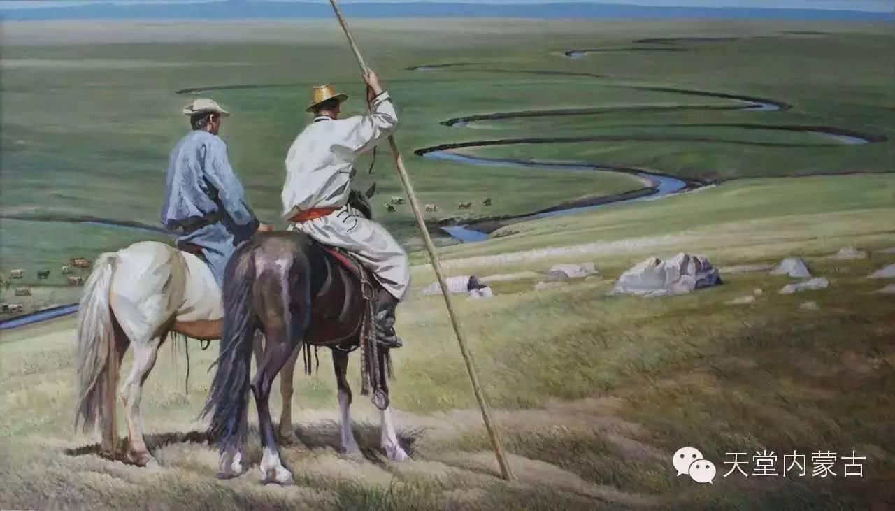 🔴内蒙古油画家胡贵明---油画作品 第17张