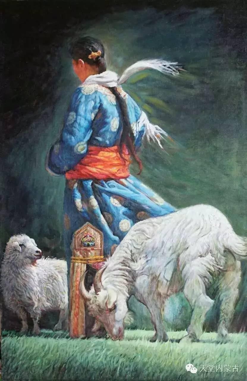 🔴内蒙古油画家胡贵明---油画作品 第20张