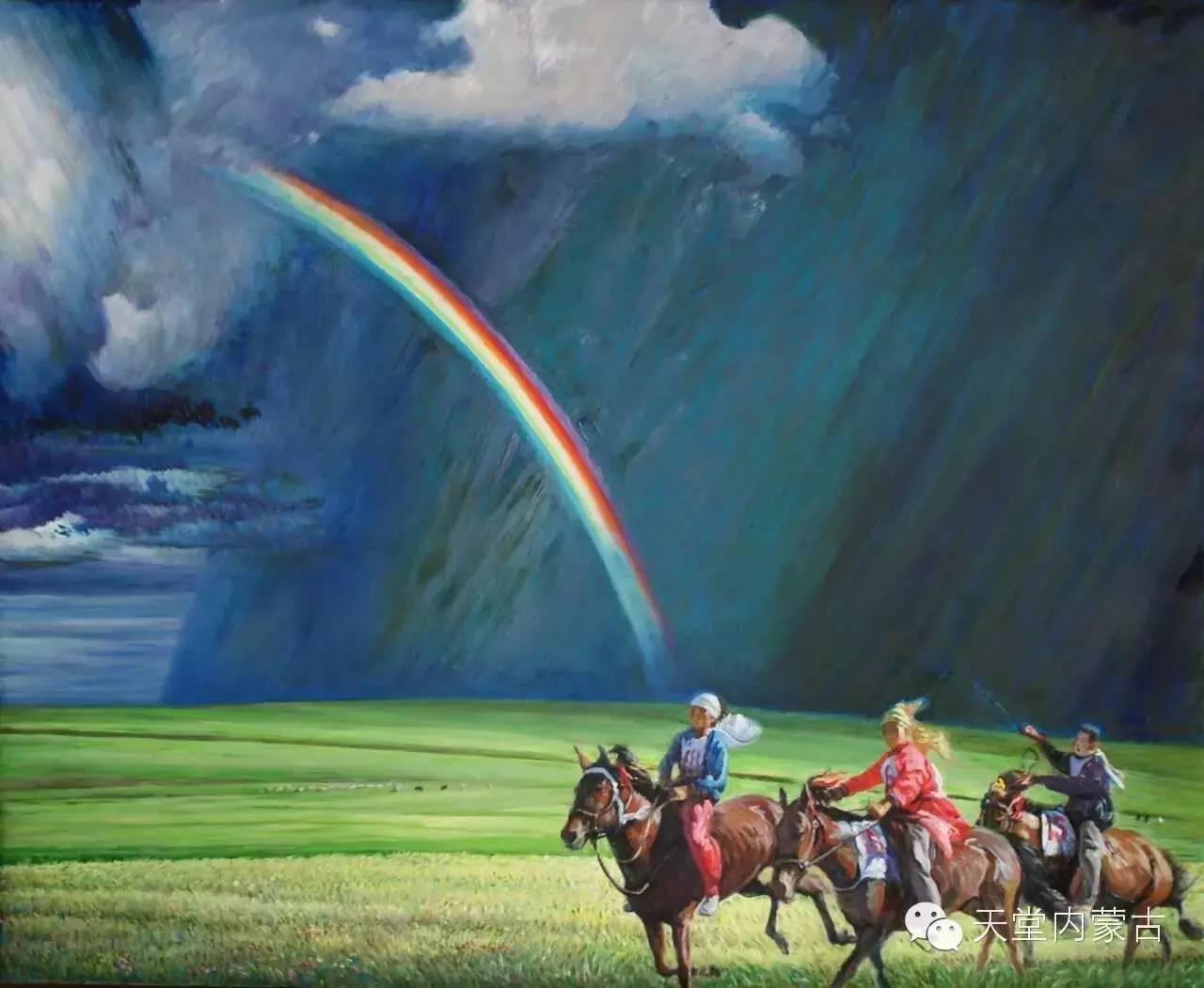 🔴内蒙古油画家胡贵明---油画作品 第22张