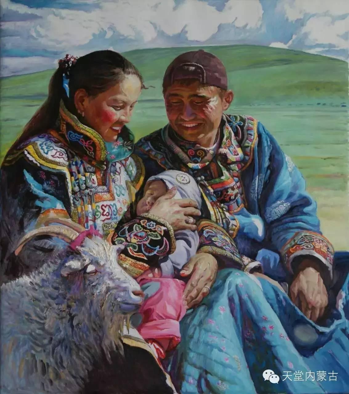 🔴内蒙古油画家胡贵明---油画作品 第26张