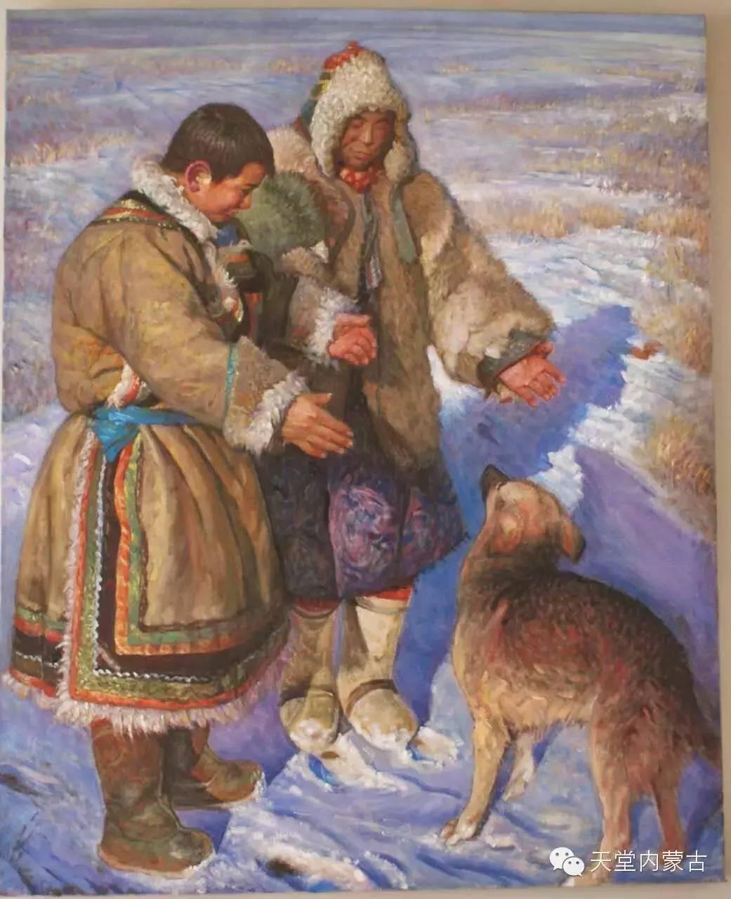 🔴内蒙古油画家胡贵明---油画作品 第24张