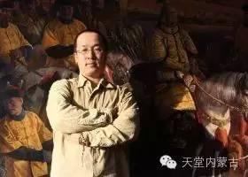 🔴内蒙古油画家张项军作品 第1张