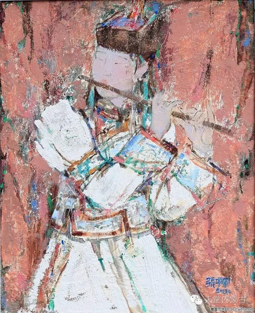🔴内蒙古油画家张项军作品 第4张