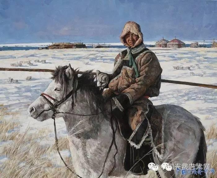 🔴内蒙古油画家张项军作品 第3张