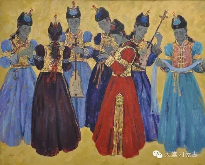 🔴内蒙古油画家张项军作品 第8张