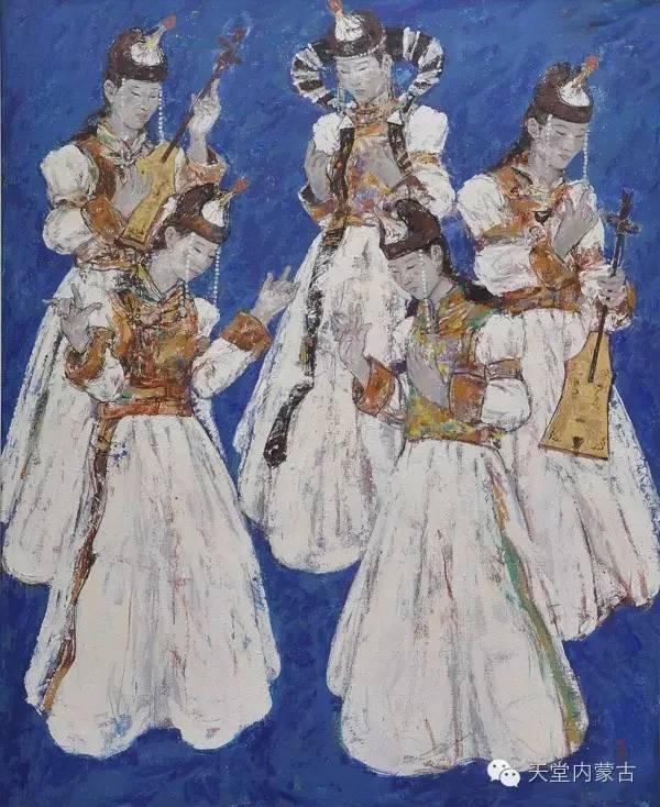 🔴内蒙古油画家张项军作品 第10张