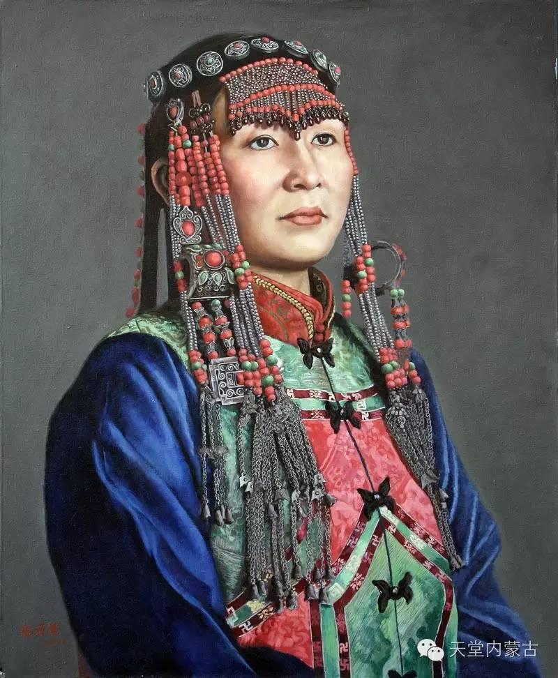 🔴内蒙古油画家张项军作品 第13张