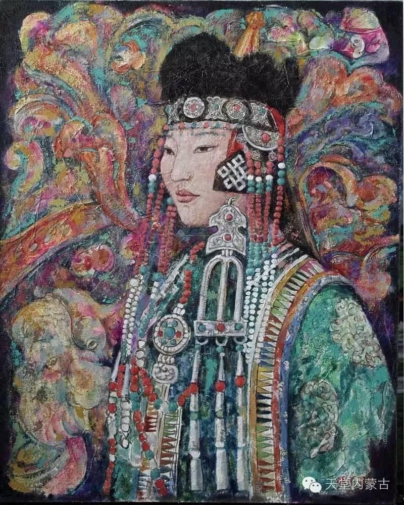 🔴内蒙古油画家张项军作品 第15张