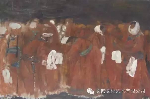 文博艺术— 内蒙古油画家—周宇 第1张