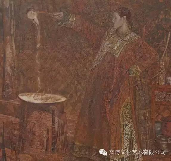 文博艺术— 内蒙古油画家—周宇 第4张