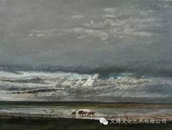 文博艺术— 内蒙古油画家—周宇 第9张