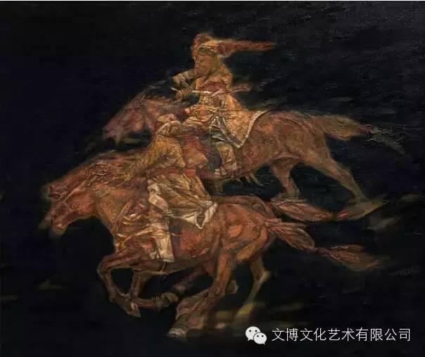 文博艺术— 内蒙古油画家—周宇 第10张