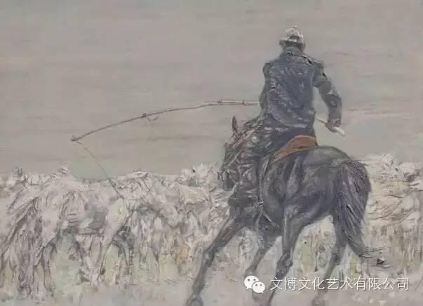 文博艺术— 内蒙古油画家—周宇 第15张