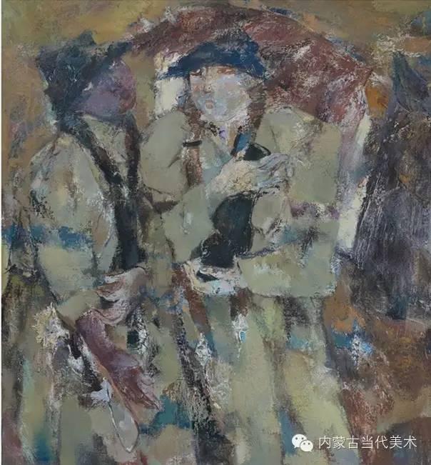 内蒙古当代美术家 乌吉斯古楞与她的布里亚特系列油画创作 第15张