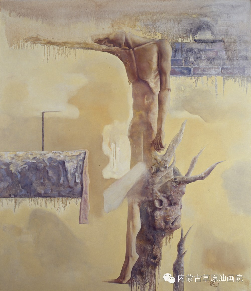 内蒙古草原油画院画家--格日勒图 第10张