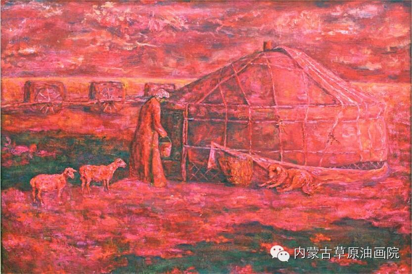 内蒙古草原油画院画家--包双梅 第3张