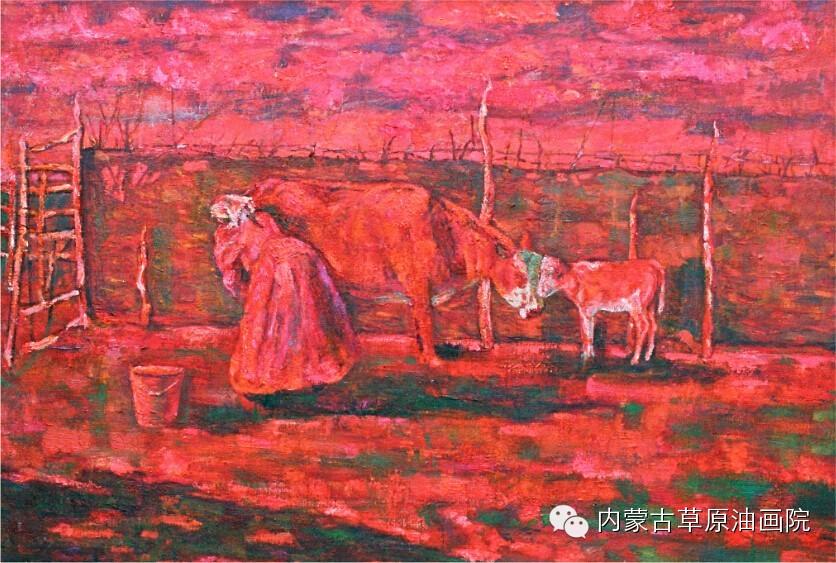 内蒙古草原油画院画家--包双梅 第4张