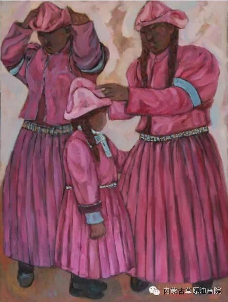 内蒙古草原油画院画家--包双梅 第5张