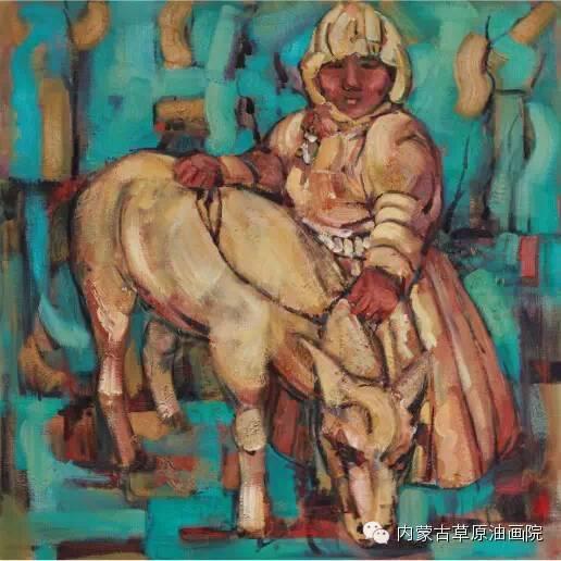 内蒙古草原油画院画家--包双梅 第9张