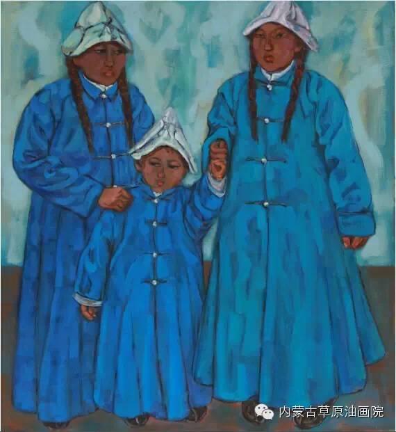 内蒙古草原油画院画家--包双梅 第7张