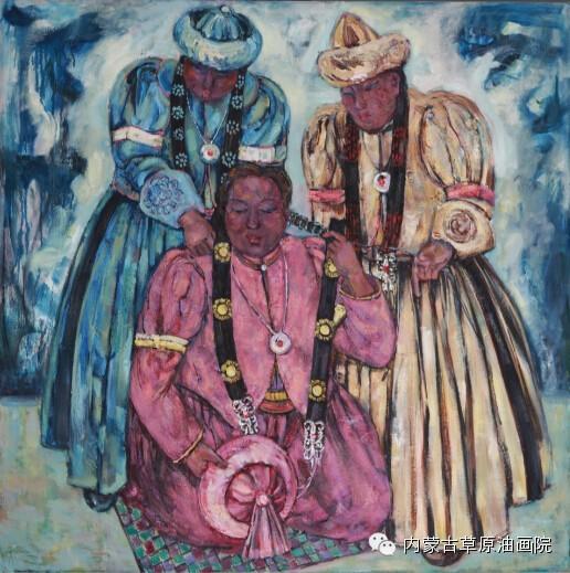 内蒙古草原油画院画家--包双梅 第17张