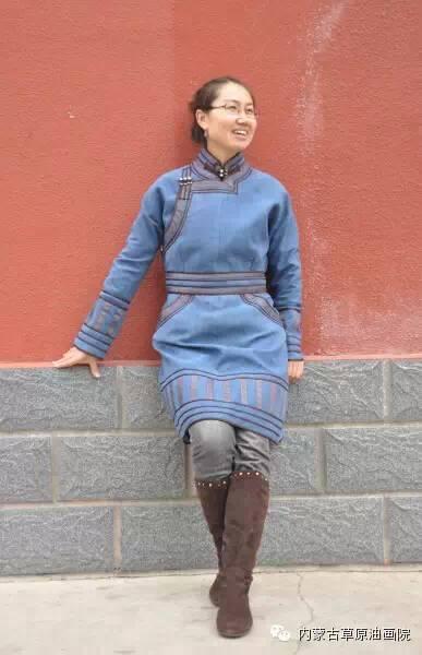 内蒙古草原油画院画家--包双梅 第23张