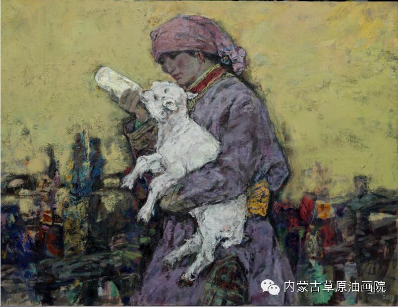 内蒙古草原油画院画家--燕杰 第2张