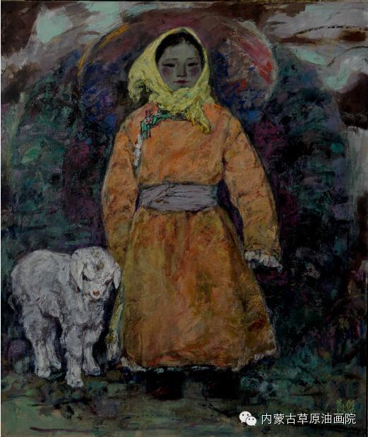 内蒙古草原油画院画家--燕杰 第3张