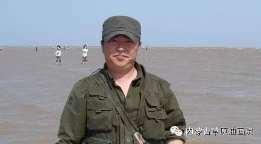 内蒙古草原油画院画家-文胜 第1张