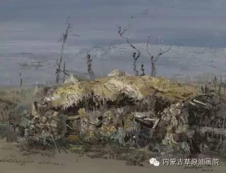 内蒙古草原油画院画家-文胜 第8张