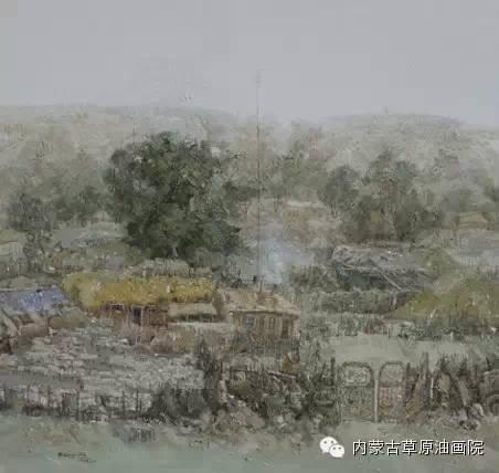 内蒙古草原油画院画家-文胜 第10张