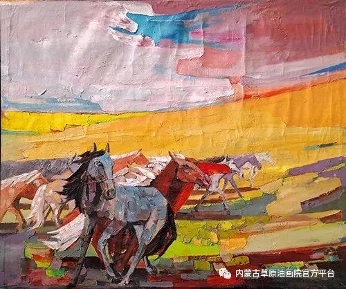 内蒙古草原油画院2017双年展 第3张