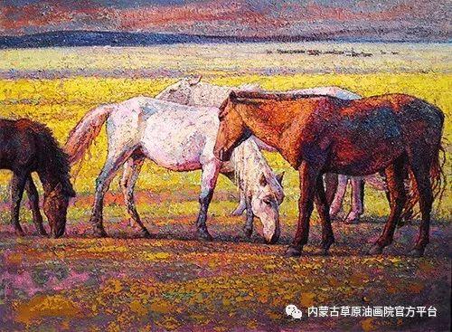 内蒙古草原油画院2017双年展 第7张