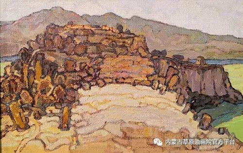 内蒙古草原油画院2017双年展 第9张
