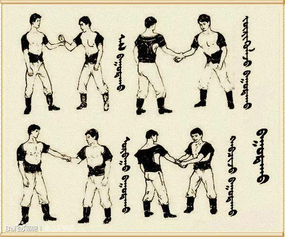 最全搏克战袍介绍及基本技法(蒙古文) 第11张