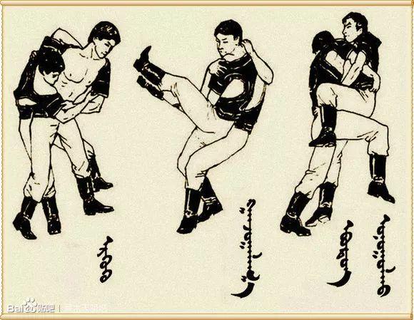 最全搏克战袍介绍及基本技法(蒙古文) 第15张