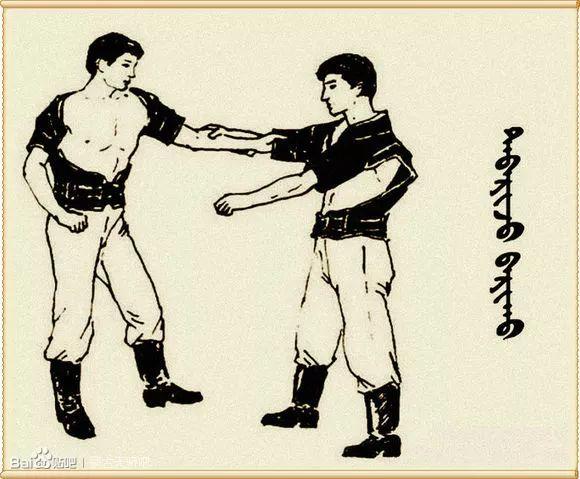 最全搏克战袍介绍及基本技法(蒙古文) 第20张