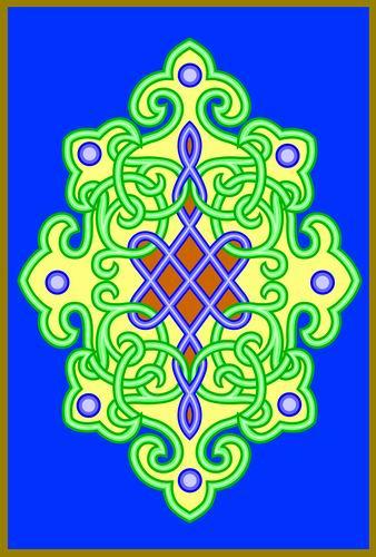 我收集的彩色蒙古族图案40张 第3张