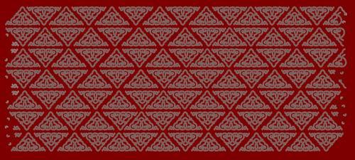 我收集的彩色蒙古族图案40张 第14张