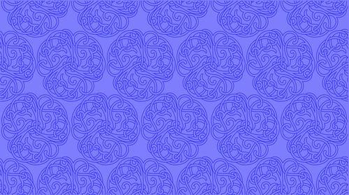 我收集的彩色蒙古族图案40张 第13张