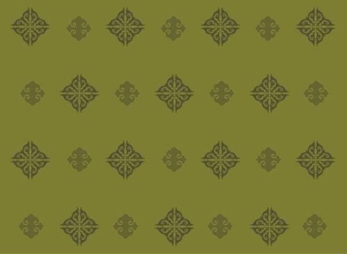 我收集的彩色蒙古族图案40张 第22张
