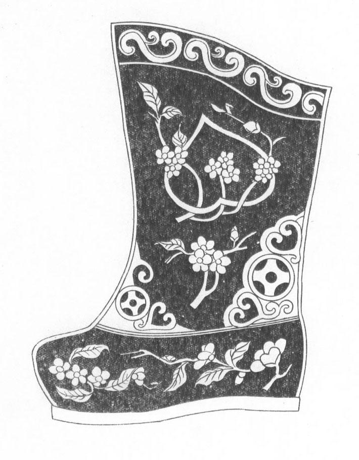 黑白蒙古图案 ,花纹1(25张) 第9张